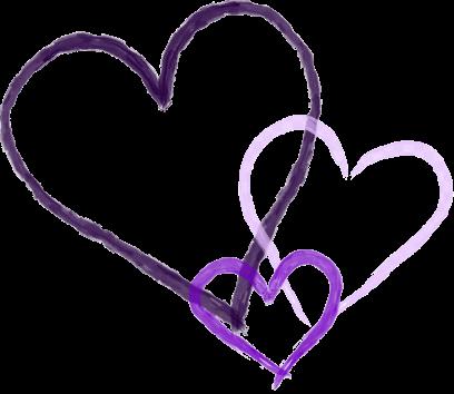 Three Purple Hearts