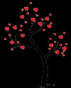 Love Tree PSD